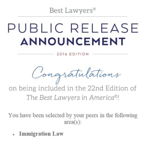 Helen Parsonage selected to Best Lawyers in America, 2016